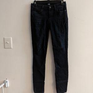 PAIGE  Verdugo ultra skinny dark wash jeans sz 28